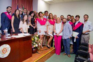 Acto de graduación de los alumnos del Máster de Cirugía Oral de la Universidad de Sevilla